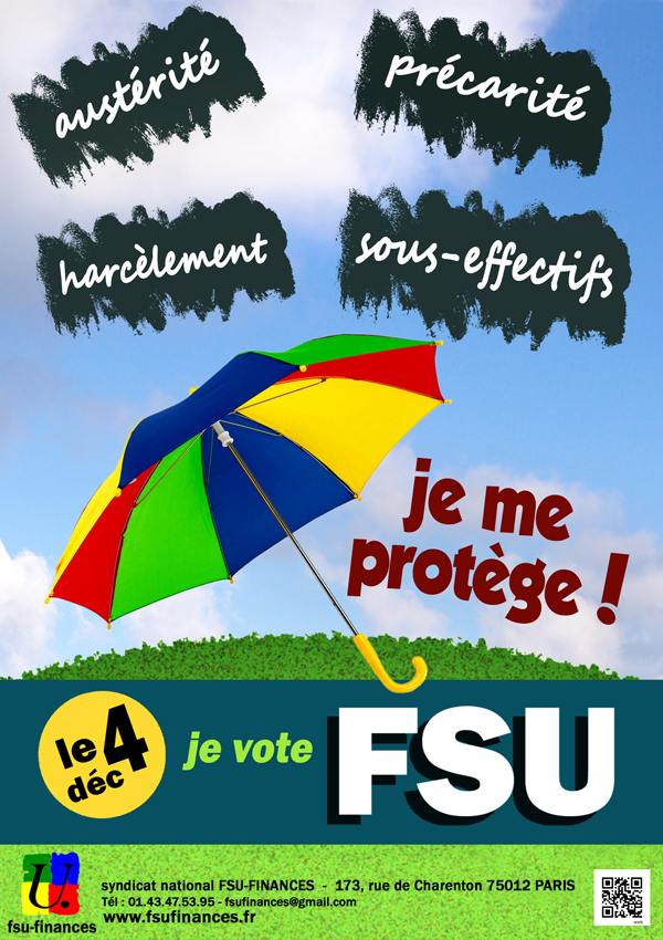 Parapluie FSU