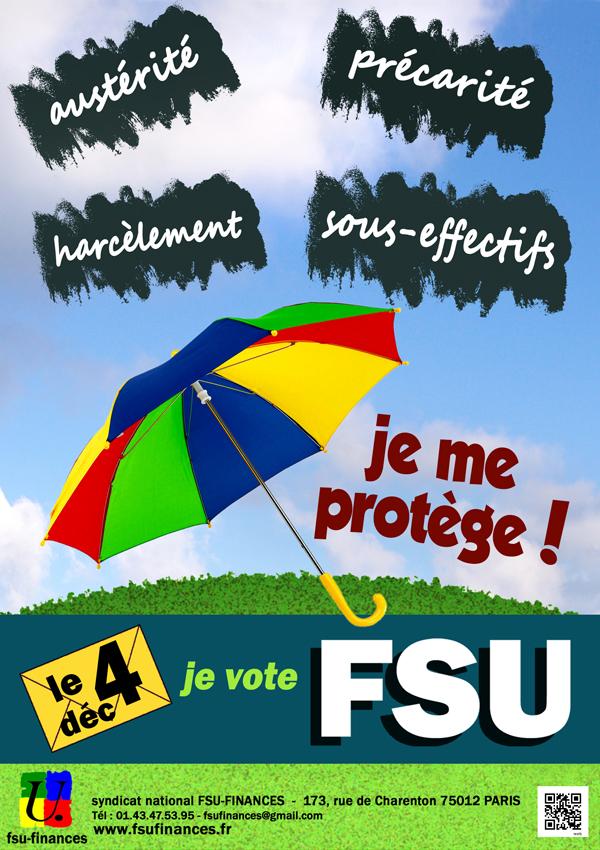 Parapluie FSU env.